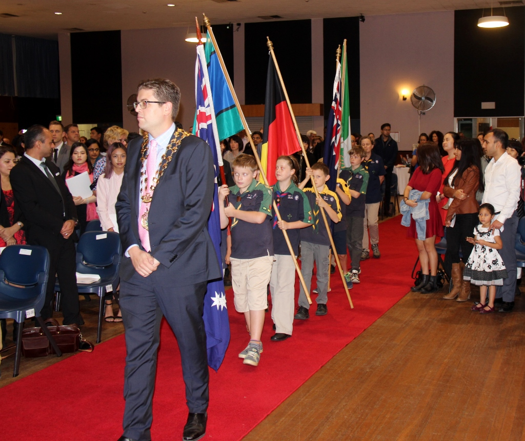 Citizenship ceremony 2016