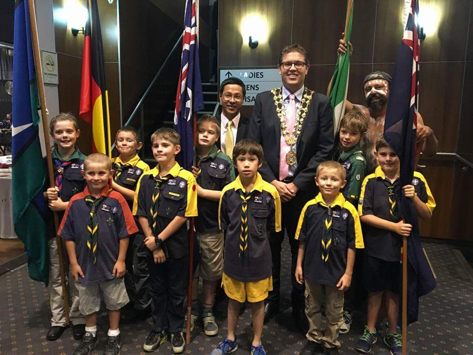 Mayor Laxale Citizenship ceremony May 2016