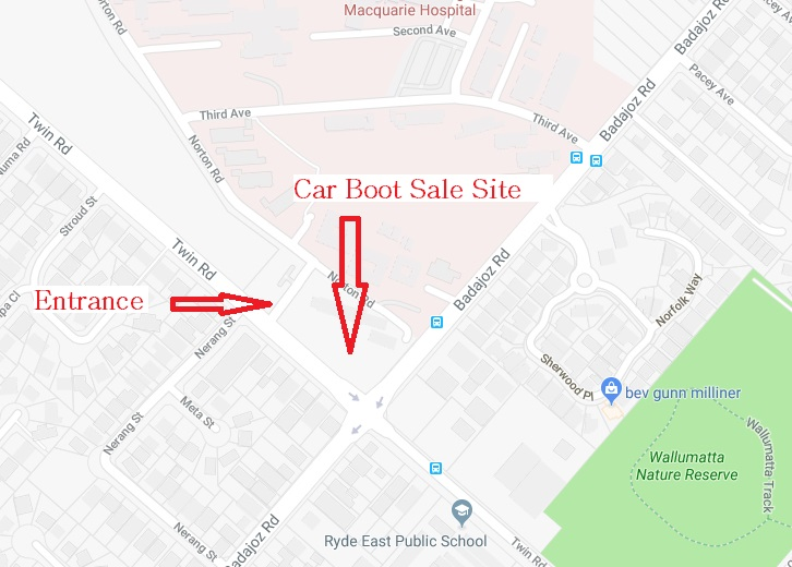 CarBootSaleLocationMap